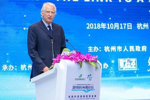 法国前总理德维尔潘:建议金融科技发展建立全球性标准,预防系统性风险