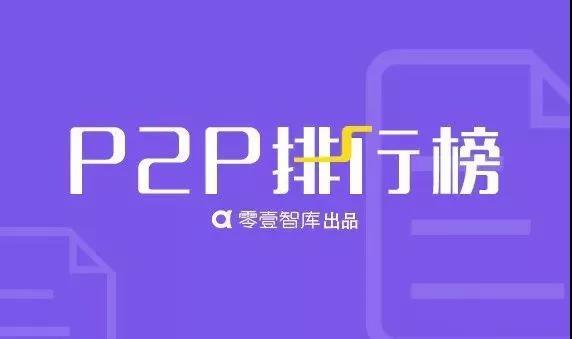 1月P2P网贷平台借贷金额和借贷余额百强榜