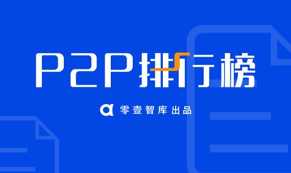 4月P2P网贷平台信息披露排行榜