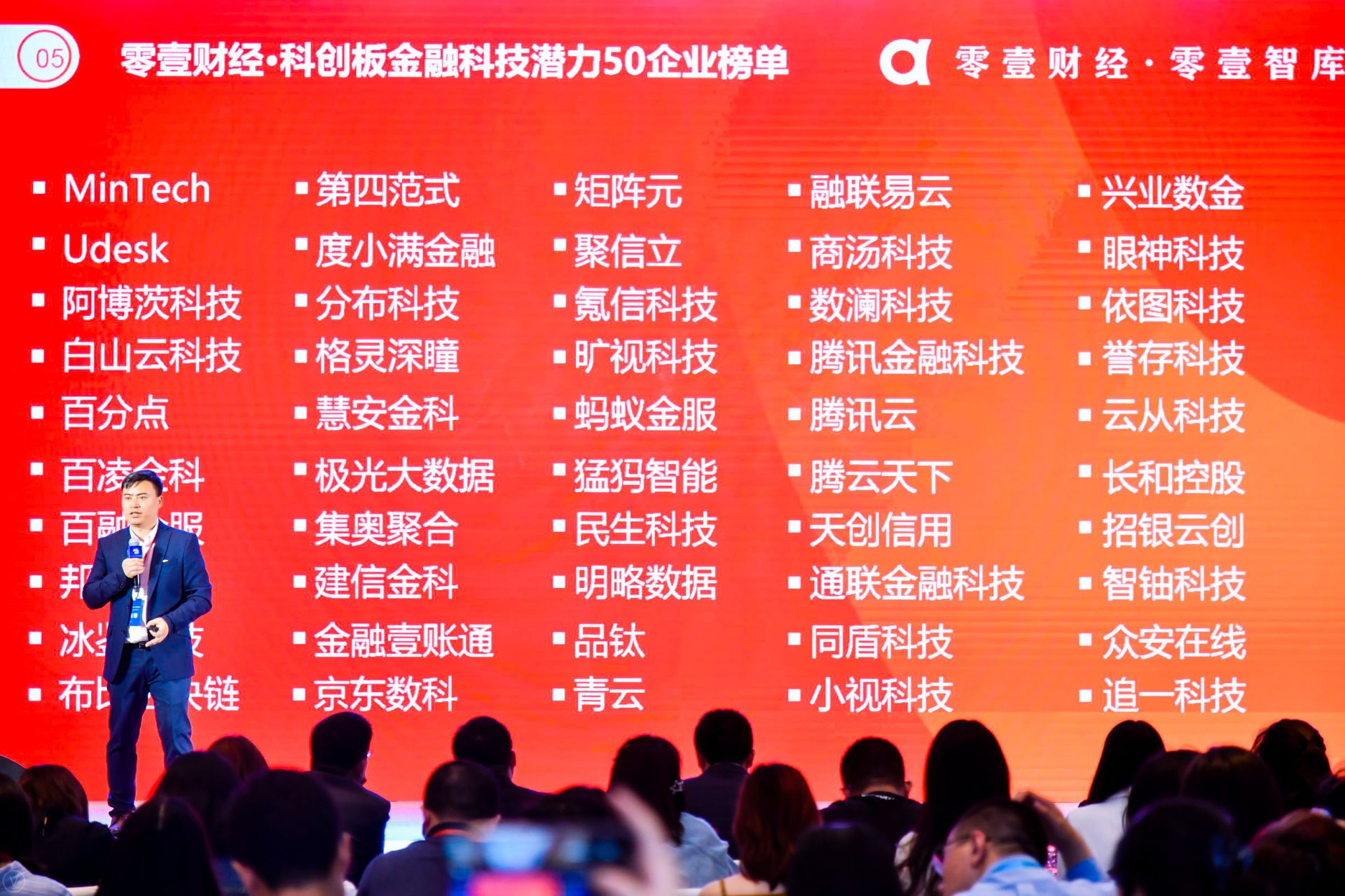 """零壹财经""""科创板金融科技潜力50企业""""榜单揭晓"""