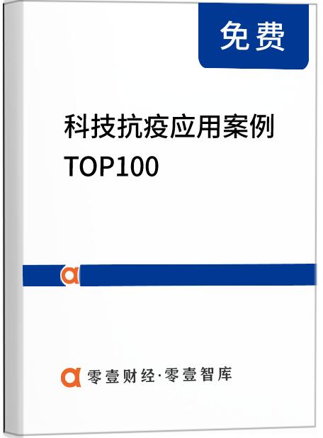 """科技""""抗疫""""应用案例 TOP100 报告——战胜疫情的""""科技力量"""""""