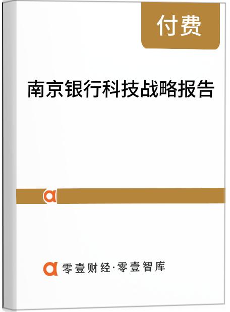 南京银行科技战略报告