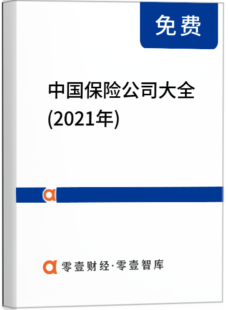 中国保险公司大全(2021年)