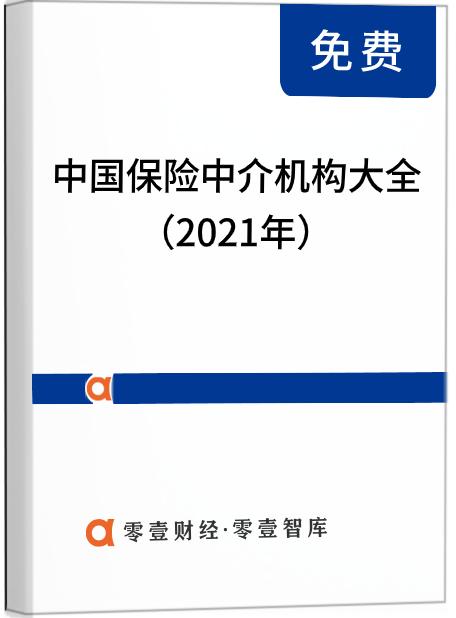 2021年中国保险中介机构大全(完整版3054家)