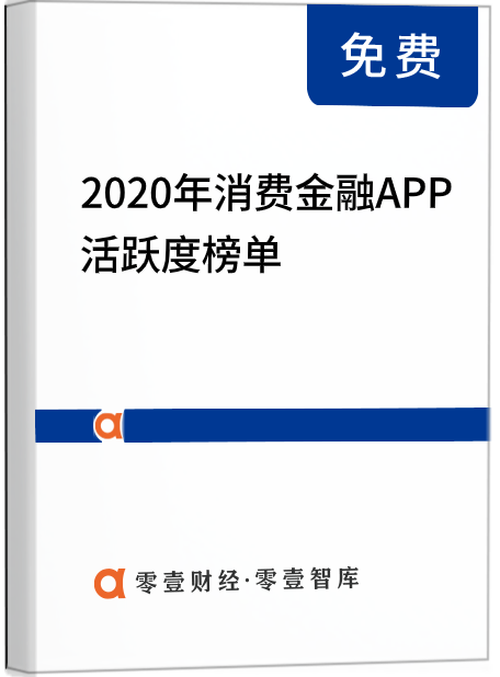 2020年消费金融APP活跃度榜单:两极分化严重,捷信马上招联位列前三甲