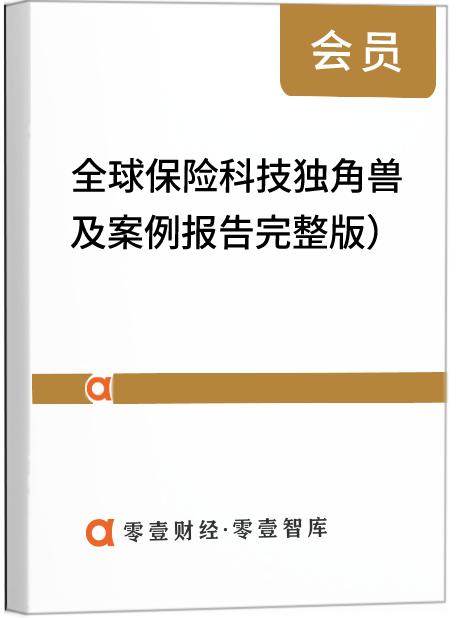 全球保险科技独角兽及案例报告(完整版)